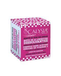 Calysia Lingettes Dissolvantes Ongles 10 Lingettes