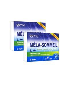 Urgo GoVital Méla-Sommeil Duo 2x30 Gélules