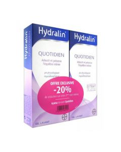 Hydralin Quotidien Gel Lavant 200ml Duo