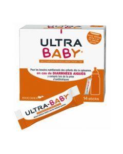 Ultra Baby Diarrhées Aiguës Poudre 14 Sticks