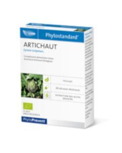 PhytoPrevent Phytostandard Artichaut Bio 20 gélules végétales