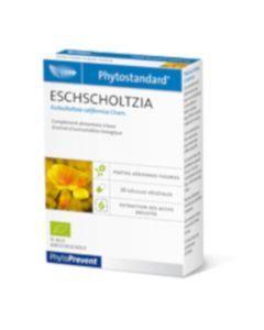 PhytoPrevent Phytostandard Eschscholtzia Bio 20 gélules végétales
