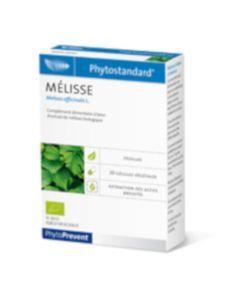 PhytoPrevent Phytostandard Mélisse Bio 20 gélules végétales