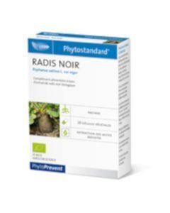 PhytoPrevent Phytostandard Radis Noir Bio 20 gélules végétales
