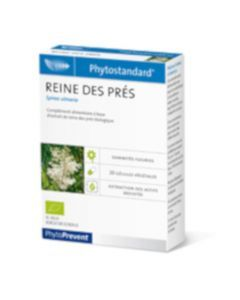 PhytoPrevent Phytostandard Reine Des Prés Bio 20 gélules végétales