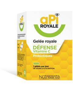 Nutrisanté Api Royale Defense 30 Gélules