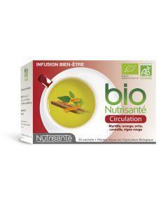 Nutrisanté Infusion Circulation Bio 20 sachets