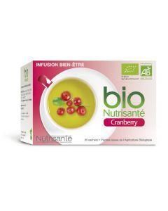 Nutrisanté Infusion Cranberry Bio 20 sachets