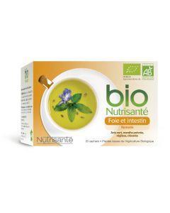 Nutrisanté Infusion Foie Et Intestin Bio 20 sachets