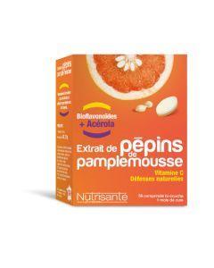 Nutrisanté Extrait De Pepins De Pamplemousse 56 Comprimés