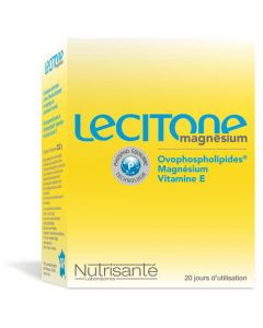 Nutrisanté Lecitone Magnésium 60 Gélules