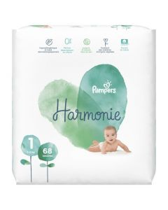 Pampers Harmonie Taille 1 68 Couches 2-5 kg