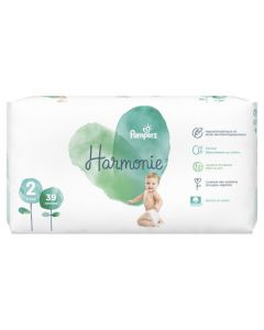 Pampers Harmonie Taille 2 39 Couches 4-8 kg