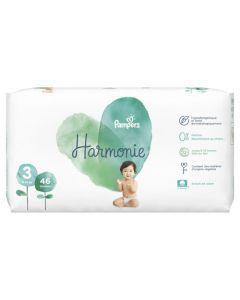 Pampers Harmonie Taille 3 46 Couches 6 -10 kg