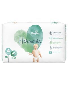 Pampers Harmonie Taille 4 40 Couches 9-14 kg