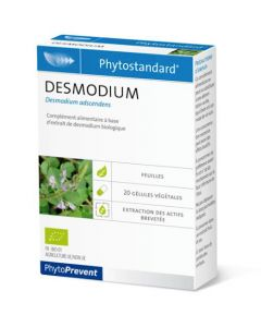 PhytoPrevent Phytostandard Desmodium Bio 20 gélules végétales