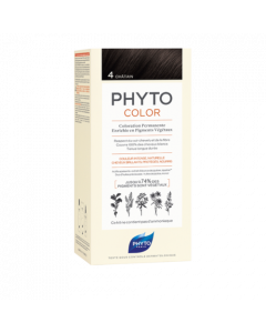 Phyto Color Coloration Permanente Teinte : 4 Châtain