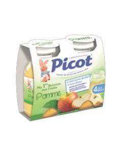Picot Jus de Fruits Pomme 2 Bouteilles 130ml