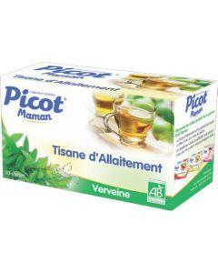 Picot Maman Tisane Allaitement Verveine Bio 20 Sachets