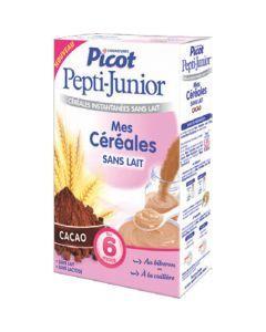 Picot Pepti-Junior Céréales Cacao dès 6 mois 300g