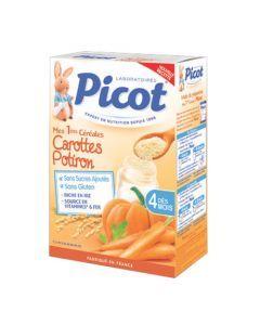 Picot Céréales Carotte/ Potiron dès 4 mois 200g