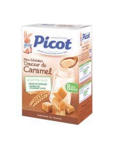 Picot Céréales Caramel dès 8 mois 400g