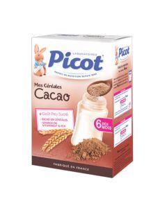 Picot Céréales Cacao dès 6 mois 400g