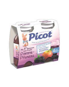 Picot Jus de Fruits Pomme-Pruneau 2 Bouteilles 130ml