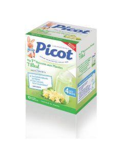 Picot Boisson aux Plantes Tilleul 10 Sachets 5g