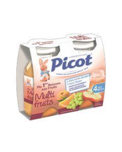 Picot Jus de Fruits Multifruits 2 Bouteilles 130ml
