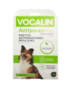 Vocalin AntipucesPlus Pipettes Chien Moyen 3 x 3 ml