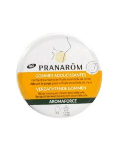 Pranarôm Bio Aromaforce Gommes Adoucissantes 45g