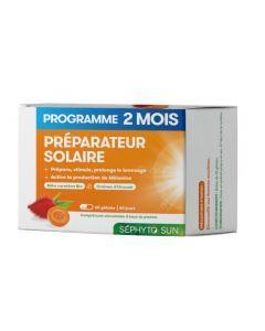 Séphyto Sun Préparateur Solaire Programme 2 Mois 60 Gélules