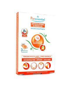Puressentiel Articulations Joints Patchs Chauffants Lot x 3