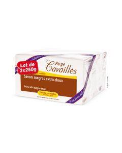 Rogé Cavaillès Savon Surgras Extra Doux lot de 3x250 g