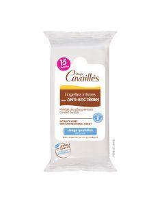Rogé Cavaillès Lingettes Avec Anti Bactérien Flow Pack de 15