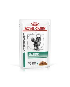 Royal Canin Veterinary Diabetic pour Chats 12 sachets repas x 85g