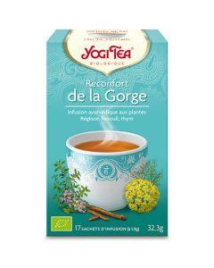 Yogi Tea Réconfort de la Gorge 17 Infusions