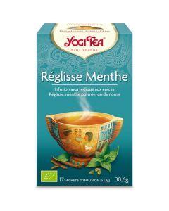Yogi Tea Réglisse Menthe 17 Infusions