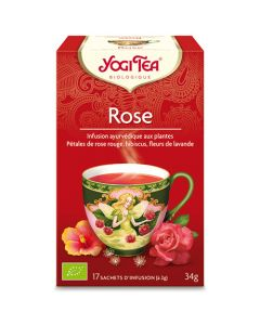 Yogi Tea Rose 17 Infusions