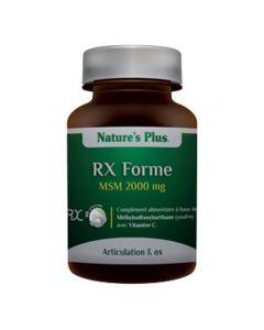 Nature's Plus Rx Forme MSM 60 comprimés