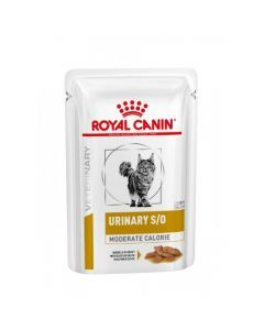 Royal Canin Veterinary Urinary S/0 Moderate Calorie pour Chat 12 Sachets x 85g