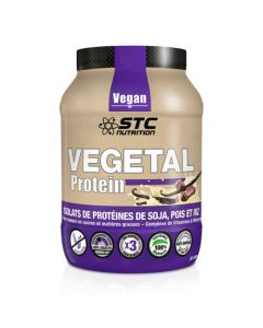 STC Nutrition Vegetal Protein Vanille 100% Végétal Pot 750g