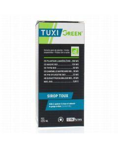 Synactifs Tuxigreen Sirop pour la Toux Bio 125ml