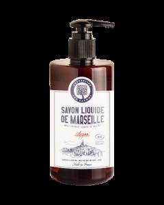Authentine Savon Liquide de Marseille Corps & Mains Argan Bio 1L