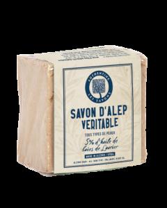 Authentine Savon d'Alep Véritable 5% Huile de Baies de Laurier 190g