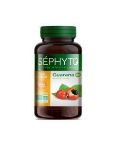 Séphyto Tonus & Vitalité Guarana Bio 200 Gélules