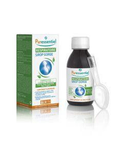 Puressentiel Sirop Gorge Respiratoire avec cuillère mesure - 125 ml
