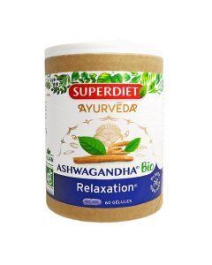 Superdiet Phyto Ashwagandha Relaxation Bio 60 gélules