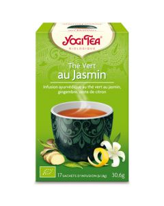 Yogi Tea Thé Vert au Jasmin 17 Infusions